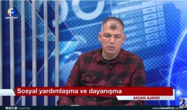 Başkanımız Fırat TV de Canlı Yayın Konuğu